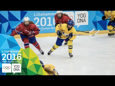 Ice Hockey - ​Women's Preliminaries - Norway Vs Sweden | ​Lillehammer 2016 ​Youth Olympic Games​