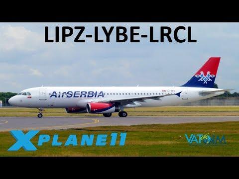 X-Plane 11 | HUGE FFa320 Update!! | A320 | VATSIM | Venice, Belgrade &  Cluj-Napoca pt 1!!