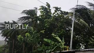 Philippines: Tens Of Thousands Evacuated As Typhoon Vongfong Hits Islands
