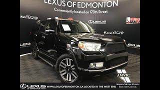 Used Black 2012 Toyota 4Runner SR5 Review - Sherwood Park, Alberta