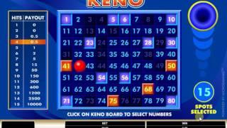 Игровой автомат Онлайн лотерея Keno