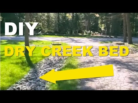How to Build a DIY Dry Creek Bed