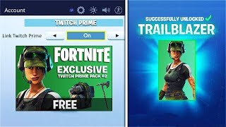 "FASTEST Tutorial to unlock NEW FREE ""TWITCH PRIME PACK 2"" in Fortnite! - FREE SKINS TWITCH PRIME #2"