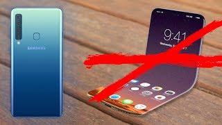 Samsung zawiódł - Galaxy A9 zamiast składanego Galaxy X