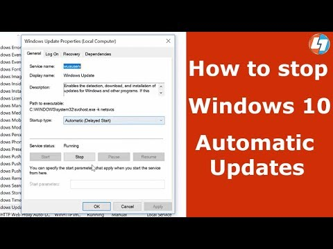 windows 10 home how to disable automatic updates