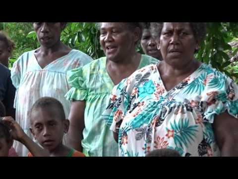 welcome song from children in vanuatu