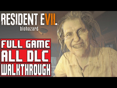 Resident Evil 7 Full Game Walkthrough - ALL BANNED FOOTAGE Vol 1, Vol 2, Single Player Campaign