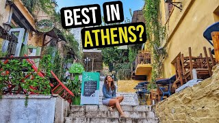 Gambar cover WHERE to Stay in ATHENS GREECE - Our Athens AirBnb and a Tour of PLAKA