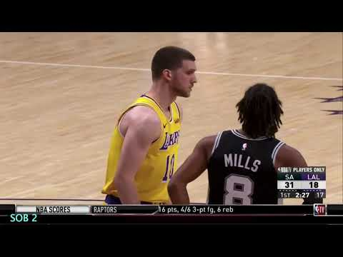 3cd4fbddd Project Spurs Film Study  Spurs vs. Lakers 10 22 18 - YouTube