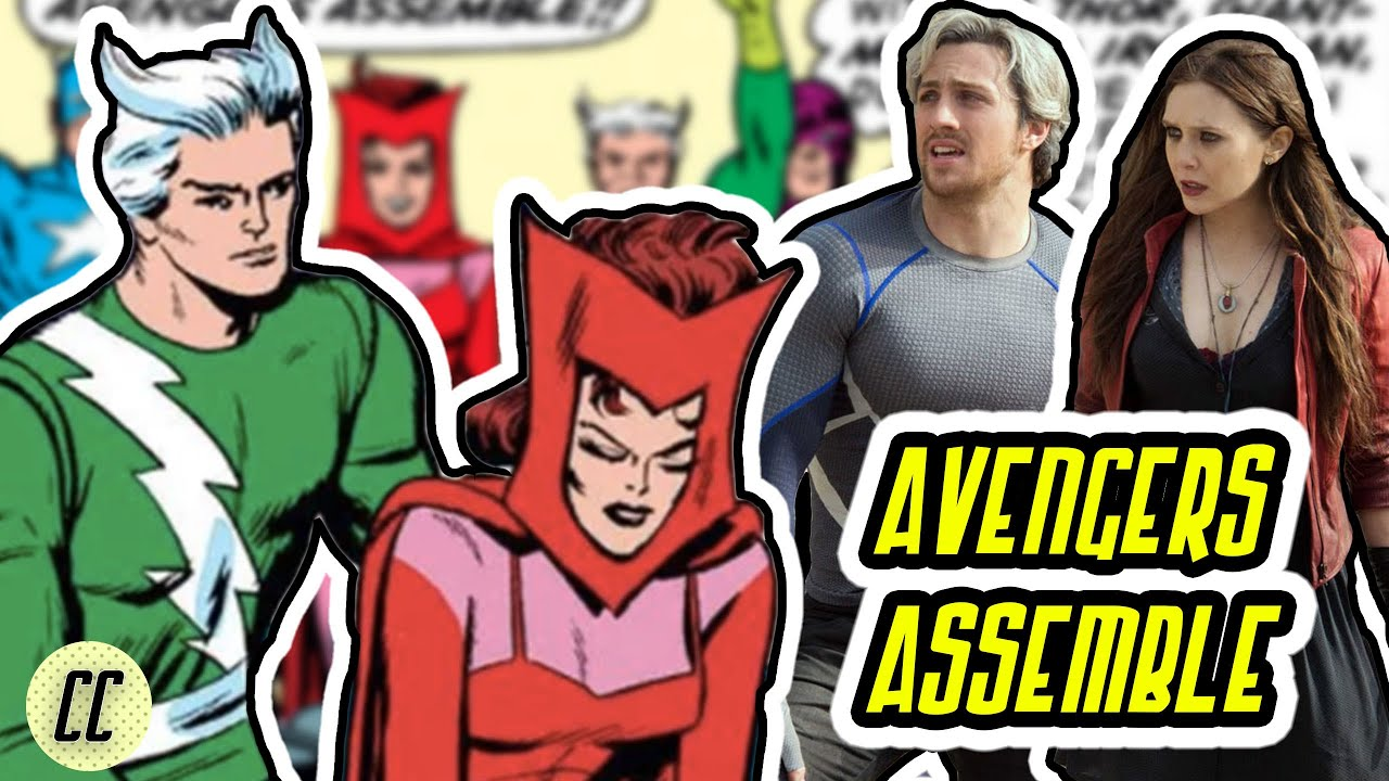 Scarlet Witch & Quicksilver Join The Avengers!