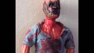 12inch scale Stitch Zombie - Zombie Holocaust 1980 custom figure Thumb