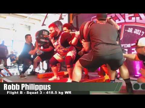 Robb Philippus - 988.5 kg/2179.3 lbs Total - Boss Of Bosses 4
