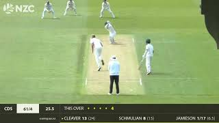 Auckland Aces v Central Stags, 2nd Innings Highlights, Round 1, Plunket Shield 19-20