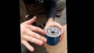 замена моторного масла на hyundai getz.