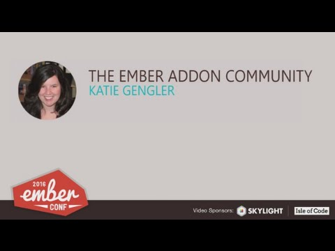 Watch The Ember Addon Community on YouTube