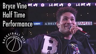 [NBA] Bryce Vine Half Time Performance, LAL vs LAC, March 8, 2020