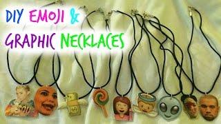 DIY Emoji Necklaces