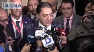 بالفيديو:وزير الصحة