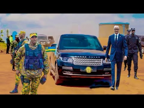 KAGAME Security soldiers:  Unforgettable Convoy security by President Kagame