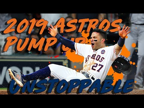 2019 Houston Astros Pump Up   