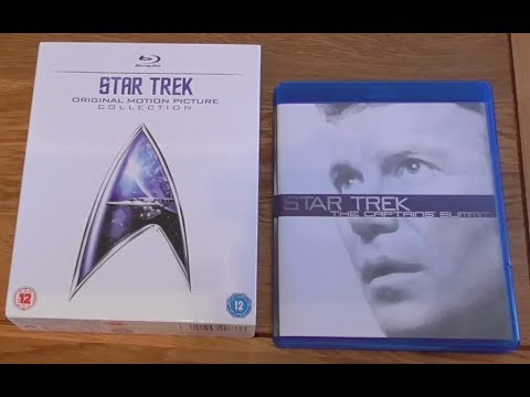 Star Trek Original Motion Picture Blu Ray Collection unboxing