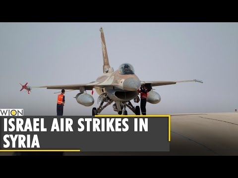 Israeli army claims attack in retaliation targets in Syria   Middle-East   World news