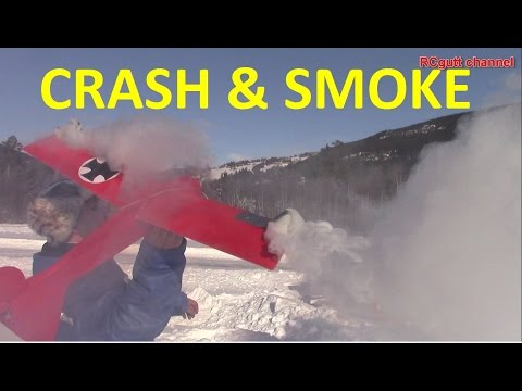 Smoke action - Crash - Perverted talking - Great flying