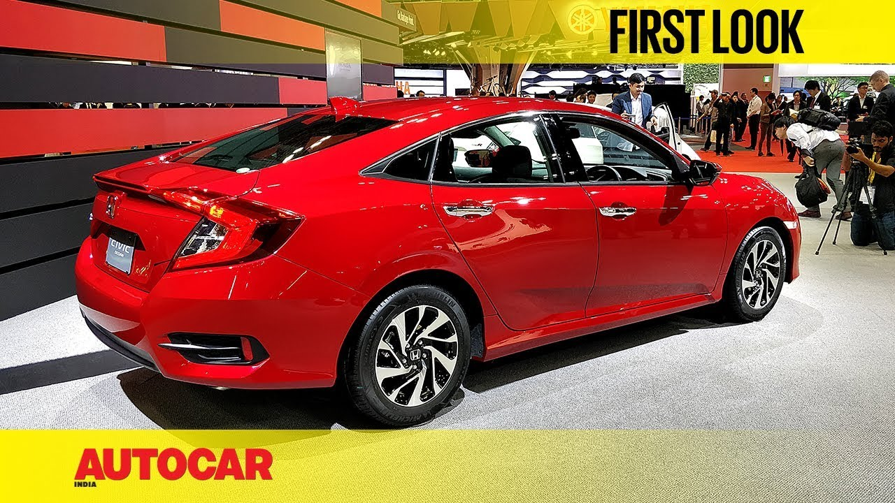 Honda Civic New >> New Honda Civic First Look Autocar India