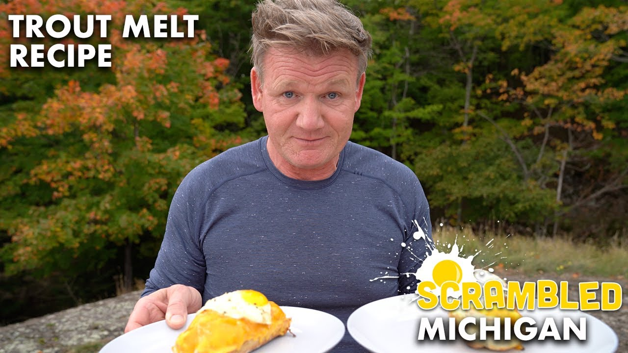 Gordon Ramsay Heads to Michigan to Cook Up Comfort Food | Scrambled