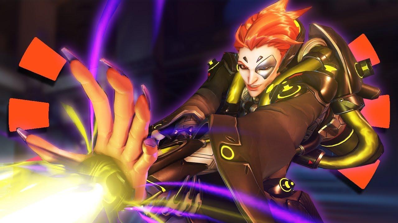 Overwatch - New Hero Moira GAMEPLAY