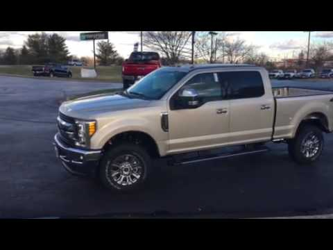 2018 Ford F350 King Ranch >> White Gold...Pure Excitement! - YouTube
