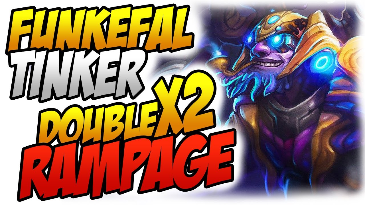 Funkefal Tinker With Double Rampage Is Enough To Defend Vs Megas?