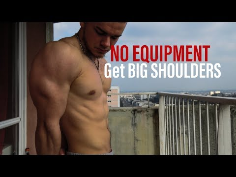 Beginner SHOULDERS Workout for TEENAGERS/NO EQUIPMENT at HOME