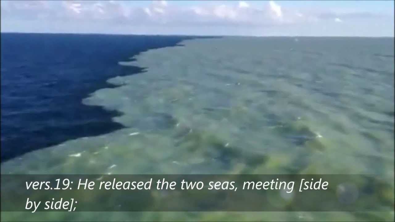 saltwater and freshwater meet quran