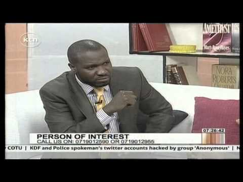 Persons of Interest with Former Nairobi City Town Clerk, Philip Kisia