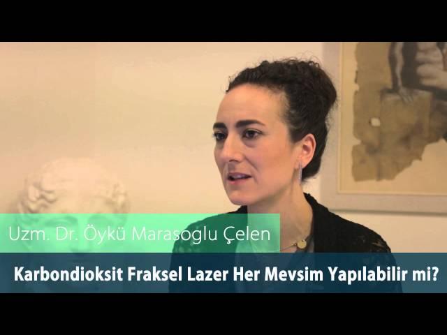 Dr.Öykü Maraşoğlu Çelen - Co2 Fraksel Lazer Her Mevsim Yapılabilir Mi ?