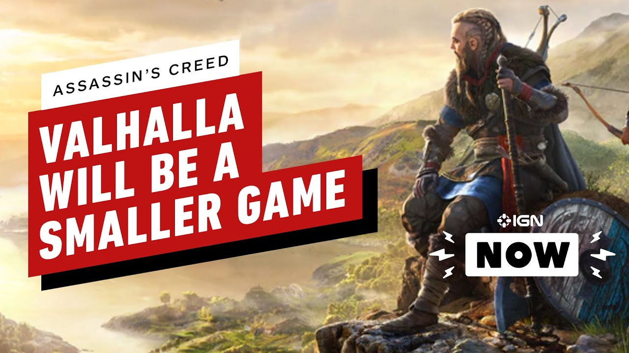 Assassin S Creed Valhalla Will Be Smaller Than Previous Games Ign Now Youtube