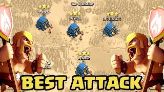 BEST COC TH12 War 3Star Attack Strategy 2018 | Clan War Leagues Attack TH12 COC | Clash Of Clans