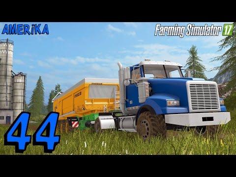 Farming Simulator 2017 | Amerika E34 | Trasporti con il camion, solo per veri americani