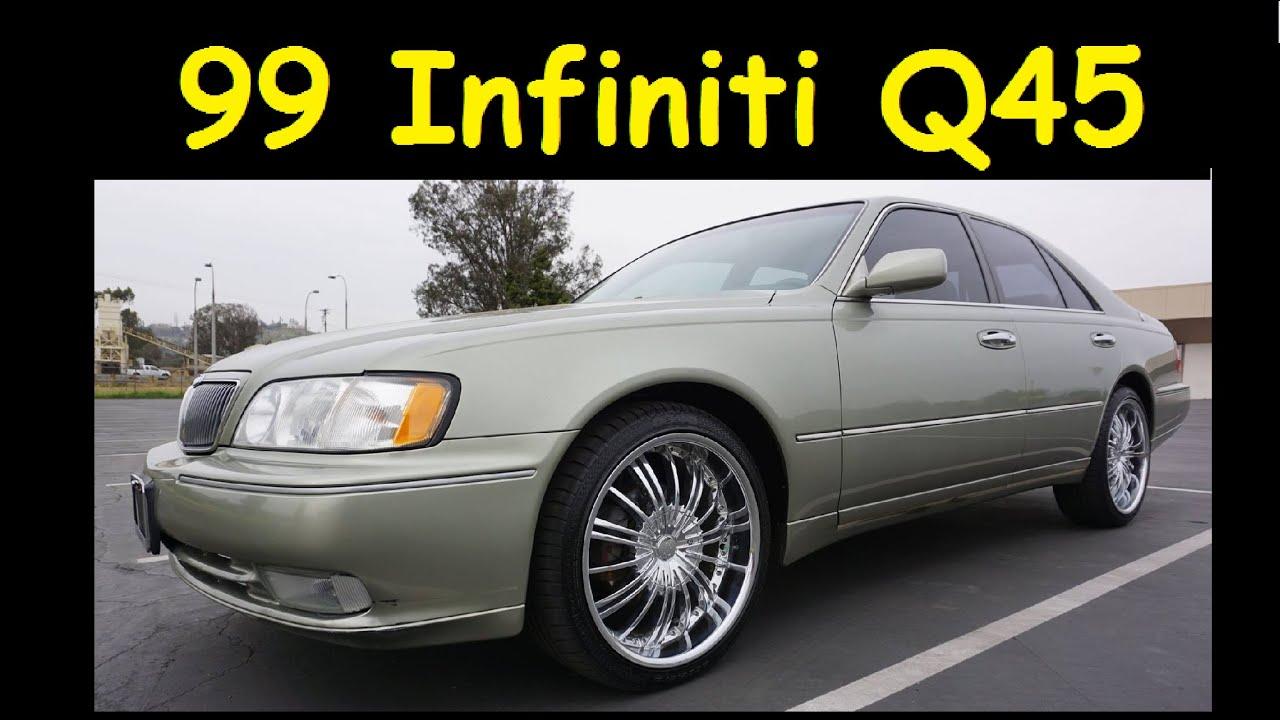 1999 infiniti q45 nissan cima fy33 big body sedan full video review youtube. Black Bedroom Furniture Sets. Home Design Ideas
