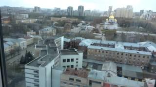Екатеринбург. Кафе(столовая) с видом на город.
