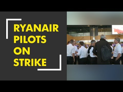 Ryanair pilots on strike: Flights affected across Europe