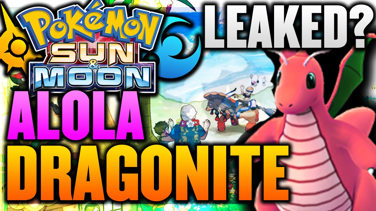 ALOLA DRAGONITE SPECULATION! Japanese Website LEAKED IT ...