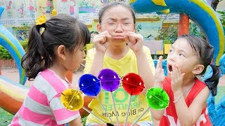 Color Song - Fun indoor playground for family at play area - nursery rhymes song for baby