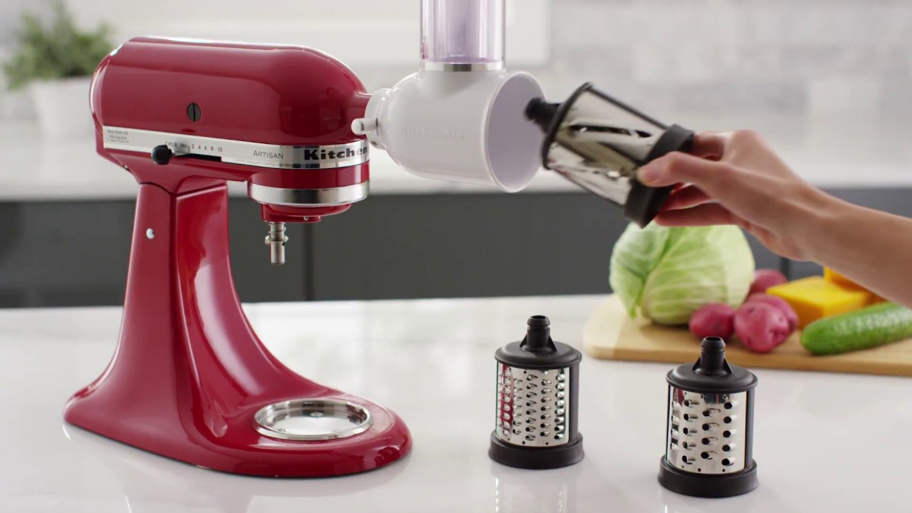 How To: Change Blades on the Fresh Prep Slicer/Shredder Attachment |  KitchenAid