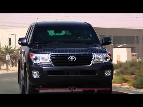Armoured Toyota LandCruiser  GXR | Armoured SUV | Armoured Cars In MENA | Niger | Chad | Lesotho