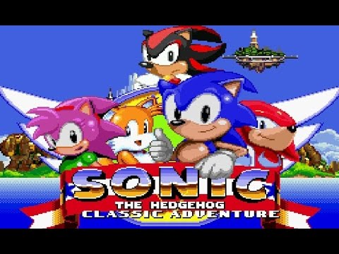 Sonic Classic Adventure (Sonic fangame)