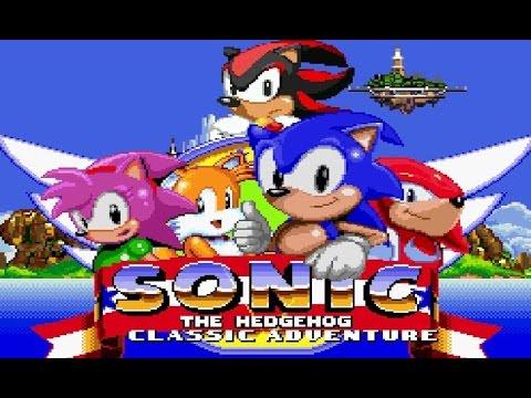 Sonic Classic Adventure (Sonic fangame)
