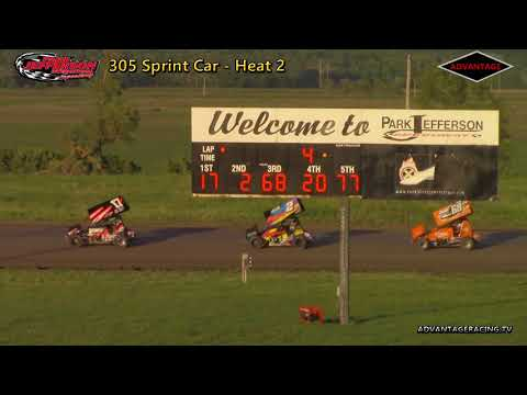 305 Sprint and Hobby Stock Heats - Park Jefferson Speedway - 6/2/18