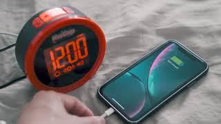 Produktvideo zu Geemarc Wake and Shake Dynamite lauter Vibrationswecker mit Blitzlicht